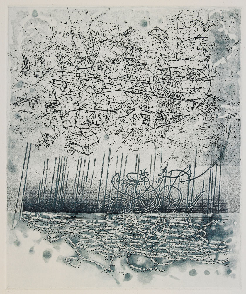 Etching 12 in x 10 in