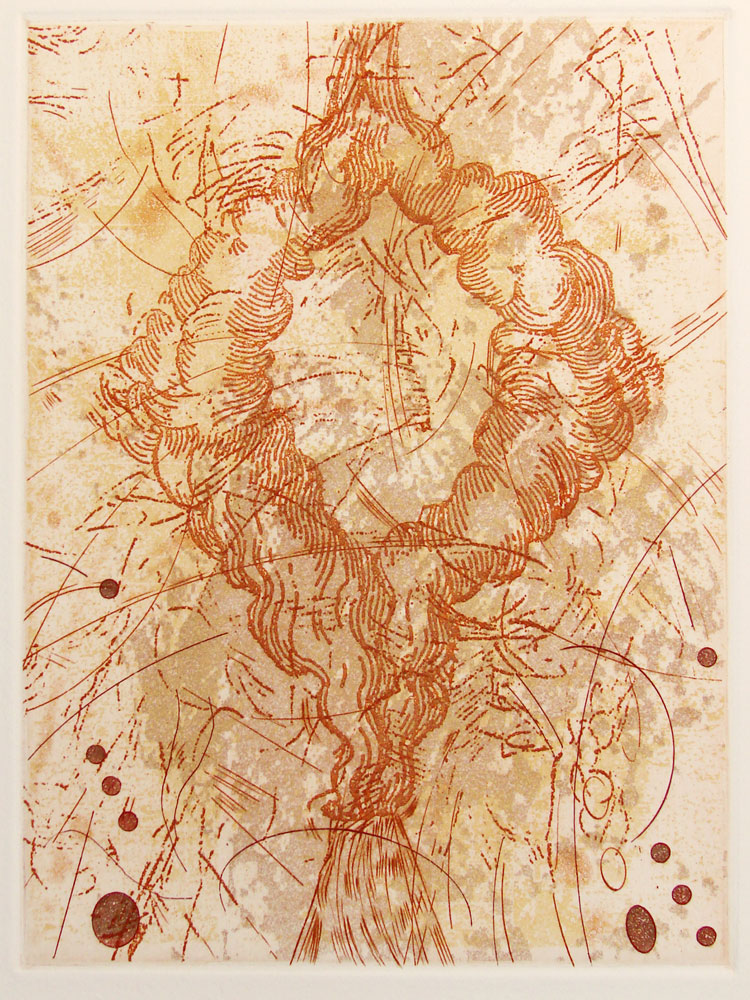 Etching 8 in x 6 in